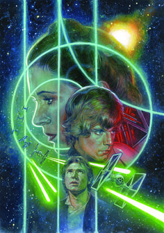STAR WARS #12  Brian Wood (W), Carlos D'Anda(A), Gabe Eltaeb (C), and Hugh Fleming (Cover)  On sale Dec 11 FC, 32 pages $2.99 Ongoing  After a battle with the Empire, it is a time of reunions, departures, and reassessments. Han and Chewie return from their mission to Coruscant, Luke deals with love lost, and Leia must accept greater responsibilities within the Rebellion. But first she has an important announcement for the Rebel commanders . . .