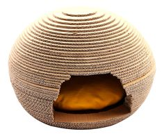 purrrfect life Creative Nest-Shape Cat Scratcher with Soft Cushion Inside ** Continue to the product at the image link. (This is an affiliate link and I receive a commission for the sales) #CatLovers