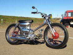 """Honda Super Cub Custom """"Iron Metal Cub"""""""