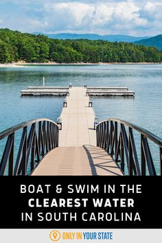 Boat, swim, and camp at beautiful Lake Jocassee in South Carolina. The best place for summer fun, you'll fall in love with the clear blue water. It's perfect for a family day trip or overnight adventure.