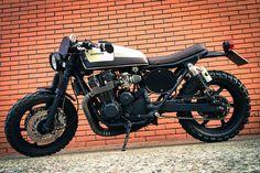 Honda CB 750 Seven Fifty scrambler bobber