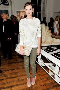 Laura Carmichael Downton Abbey Interview - entertainment news (Glamour.com UK)