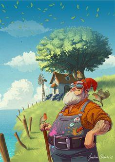 Festival Poster - Contes et jardins by tonton-jojo on DeviantArt