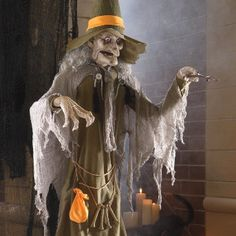 shop grandin roads halloween haven for a unique assortment of high quality halloween figures animatronics and animated halloween props to create your own - Animated Halloween Figures