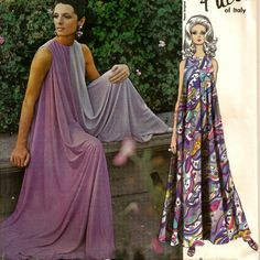 "1967 Vogue Pucci of Italy Culotte Jumpsuit Pattern - Uncut - Size 10, Bust 32-1/2"". $48.00, via Etsy."