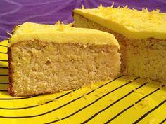 CDJetteDC's LCHF: Citronmåne med syrlig cream cheese glasur - LCHF