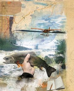 The Catch, photoillustration by ©Janice Kun | Represented by i2iart.com