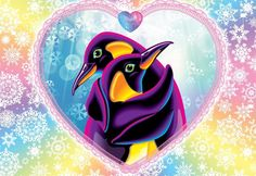 I Want Love, I Love My Hubby, Lisa Frank Stickers, Penguin Love, Water Animals, Rainbow Art, Affirmation Quotes, Childhood Friends, Cute Pictures