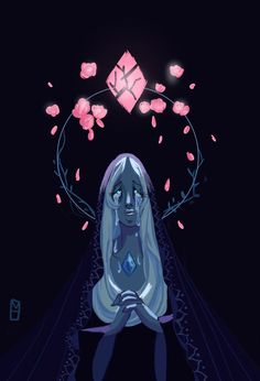 I'm just in love with Blue Diamond's character design. It fits her in such a strange, but nevertheless, beautiful way. When I saw her face for the first time, I swear, my heart stopped. I was blown away by it. AND the fact that she's so emotional, gives her character so much more depth. It's perfect.