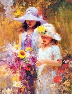 意大利画家PinoDaeni油画作品欣赏