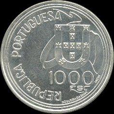 1000 Escudos - Prata, 1994