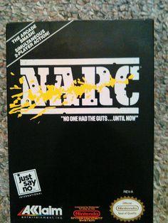 Narc  (Nintendo NES, 1988) Game 1982