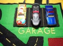 Great for road trips or just for fun anywhere. This felt play car mat folds up to turn into a tote that holds 3 cars.