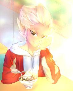 Gouenji by ZoeDarkGaming on DeviantArt Shuya, Eleventh, Photo, Arty, Axel, Kido, Art, Anime, Manga