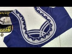 easy designer blouse cutting and stitching at home - YouTube