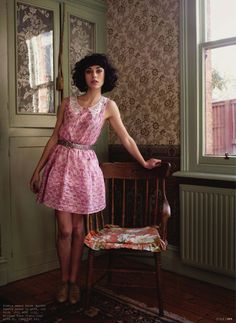 Kimbra in Frankie Magazine. Everything she wears is so cute that my wardrobe is ugly.