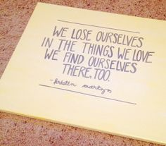 We Find Ourselves Quote