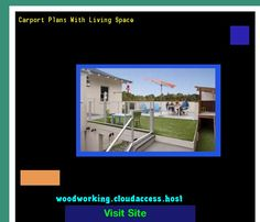 Carport Plans With Living Space 220302 - Woodworking Plans and Projects!