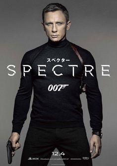007 SPECTRE Japanese Version Poster 01 Daniel Craig