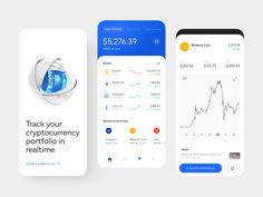Ui Inspiration, Website Design Inspiration, Motion App, Buy Cryptocurrency, Mobile App Ui, Ipad Tablet, Mobile Design, Ui Design, Automata