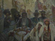 Slav Epic No  6  The Coronation of SerbianTsar Stepan Dusan1926