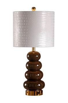 ZOE LAMP - ESPRESSO  Wildwood Lamps - Studio W Collection