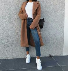 auf Tag her!Hijab-Outfits auf Tag her! Comfortable Winter Outfits Ideas To Inspire You Winter Fashion Outfits, Fall Winter Outfits, Autumn Fashion, Spring Outfits, Modest Winter Outfits, Dress Winter, Hijab Outfit, Muslim Fashion, Modest Fashion