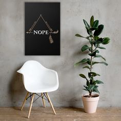 Make a statement in any room with this framed poster, printed on thick, durable, matte paper. The matte black frame that's made from wood from renewable forests adds an extra touch of class. Framed Art Prints, Poster Prints, Canvas Prints, Poster Wall, Poster Poster, Kids Poster, Framed Wall, Quote Prints, Canvas Artwork