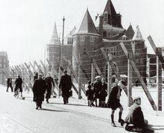 Jewish ghetto of Amsterdam.