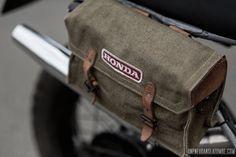 La Honda XL600R de Florent… | Un pneu dans la tombe