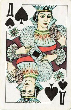 """Seasons"" Playing Cards / URSS"