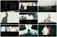 A glimpse at the process of making the dark and beautiful True Detective opening titles.