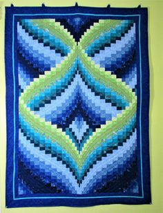 Sewing | Quilt | The Seven Seas bargello quilt