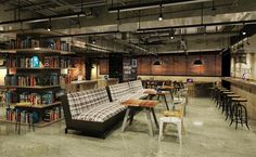 Office Free, Shared Office, Co Working, Industrial Office, Coworking Space, Facade, Diy Projects, Lounge, Interior Design