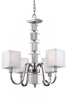 4 Light Chandelier : 3041JD0   Richardson Lighting