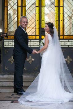 véu catedral vera wang - casamento vera wang
