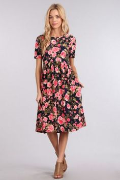 Kelsey Flower Dress