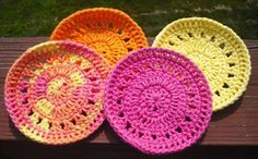 Fun In The Summer Coaster/Mini Round by JodisCraftEmporium on Etsy, $10.00