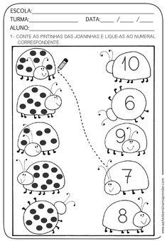 Preschool Printables, Preschool Learning, Kindergarten Worksheets, Preschool Activities, Teaching Kids, Kindergarten Coloring Pages, Math Lessons, Kids Education, Math Centers