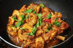 One-Pot Curried Coconut Chicken  #justeatrealfood #skinnyms