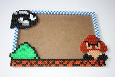 Marco para fotos Goomba y Bill Bala Super Mario por DecorarteLeon, €18.00