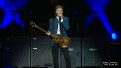 Sir Paul McCartney was the first big concert at the Golden 1 Center. His touring company, MPL Tours, Inc., handed out a few minutes of his performance Tuesday night. Check it out: