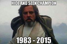 Luke - Galactic Hide N' Seek Champion