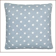 Green Gate - Quilted Star Cushion, 50x50