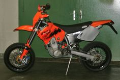 KTM EXC 450 An awesome SM bike or trail track bike, all in one.