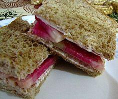 Watermelon Radish Sandwich