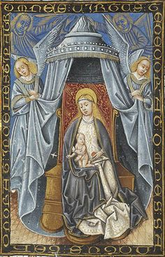 Virgin Mary and Christ Child | Book of Hours | Spain, perhaps Burgos or Segovia | 1465-1480 | The Morgan Library & Museum