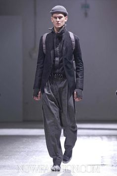 Boris Bidjan Saberi Menswear Fall Winter 2013 Paris - NOWFASHION