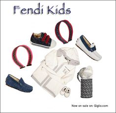 #Fendi #fashion #Kids  Now on: http://store.giglio.com/it/bambino/filters/fendi.html