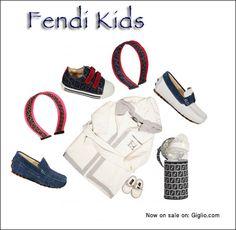 #Fendi #fashion #Kids  Now on: http://store.giglio.com/it/bambino/filters/fendi.html